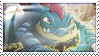 Feralligator Stamp by ice-fire