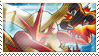 Blaziken Stamp by ice-fire