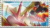 Blaziken Stamp by ice-fire