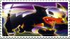 Houndour Stamp