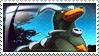 Houndoom Stamp by ice-fire