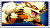 Arcanine Stamp Blue by ice-fire
