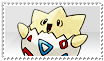 Togepi Stamp 0 by ice-fire