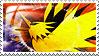 Zapdos Stamp
