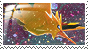 Zapdos Stamp 0 by ice-fire