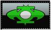 Bat Lantern Stamp by ice-fire