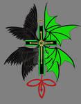 Cross Tattoo Color 0