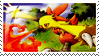 Combusken Stamp by ice-fire