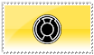 Sinestro Corps Stamp Black by ice-fire