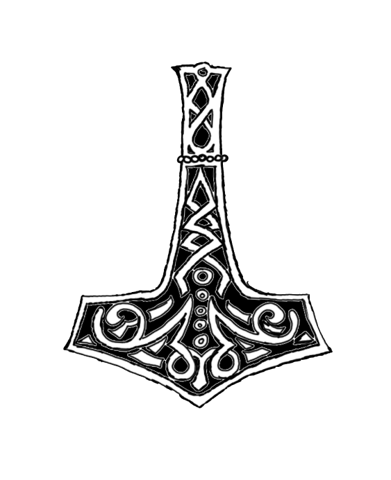 traditional mjolnir tat by ice fire on deviantart. Black Bedroom Furniture Sets. Home Design Ideas
