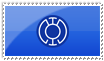 Blue Lantern Stamp by ice-fire