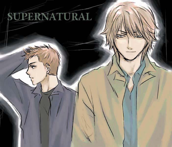 Supernatural-Dean And Sam By Keterk On DeviantArt