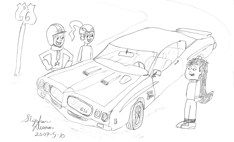 pontiac gto in good company by stephdumas on deviantart