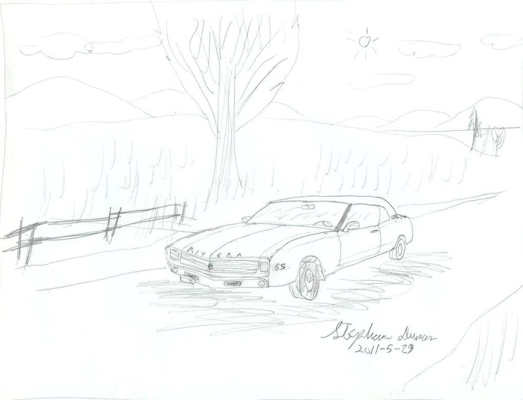 camaro based buick riviera by stephdumas on deviantart