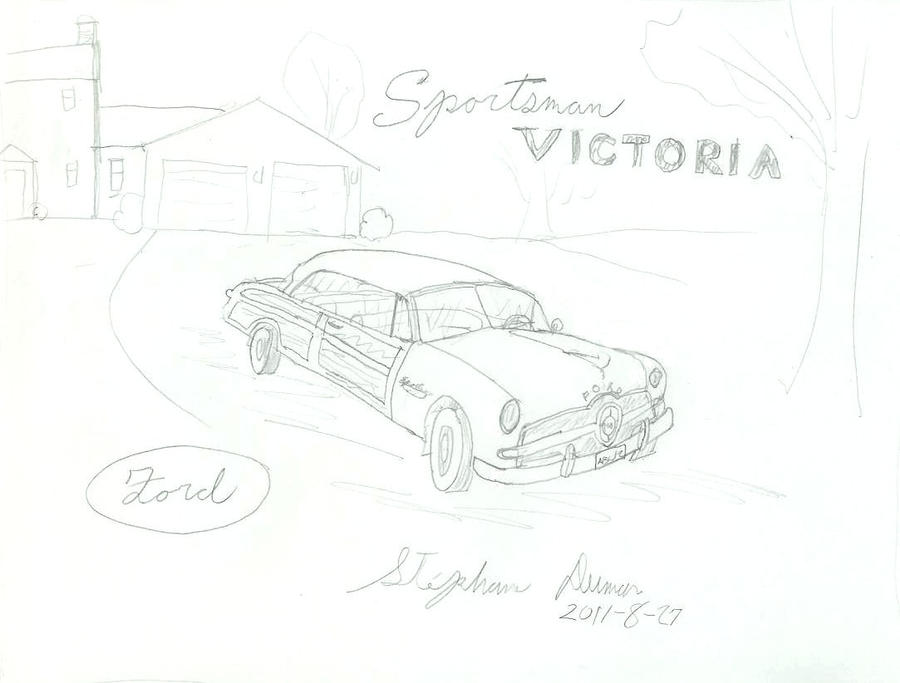 what if  1949 ford sportsman by stephdumas on deviantart