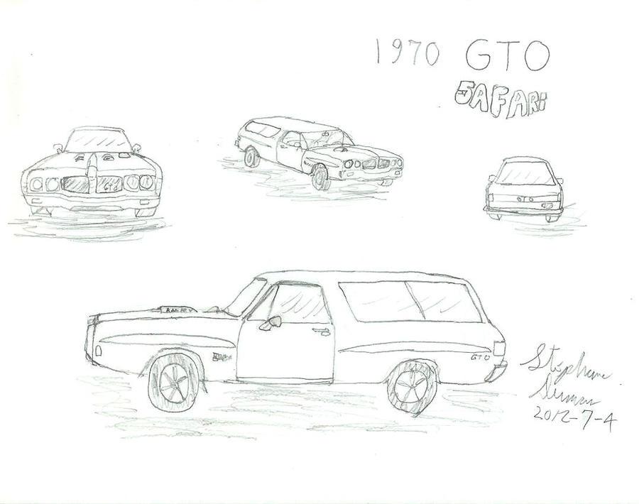 What if: 1970 Pontiac GTO Safari