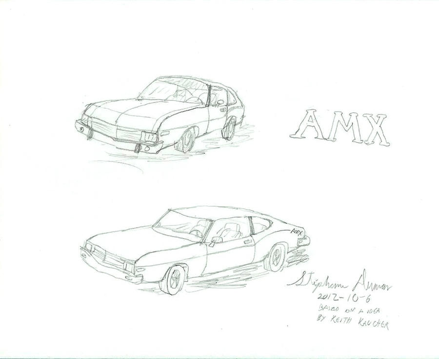 what if amc javelin  matador amx  by stephdumas on deviantart