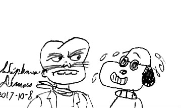 Rigel et Snoopy by stephdumas
