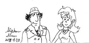 Inspector Gadget and Stephanie alias Gadgetgirl101