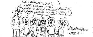 Happy Birthday to you Timmy