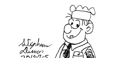 Sergeant Snorkel by stephdumas