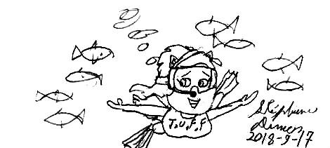 Aqua-Kitty Katswell 4 by stephdumas