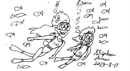 Aqua-Gravity Falls 18