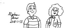 Toon cosplay: Milo Detweiler and Ashley Chase