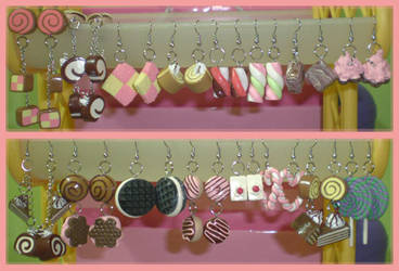 my earrings collection by jenyah