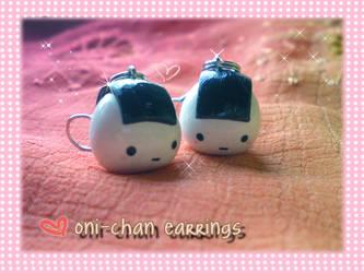 onigiri earrings by jenyah