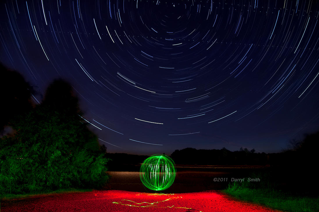 Light painting and star trails by darryl smith on deviantart light painting and star trails by darryl smith aloadofball Image collections