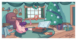 KONSTI'S CHRISTMAS MORNING