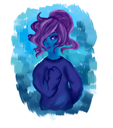 Blue Lady Thing by tocccata