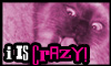 Stamp _ Crazy by Eternal-BlueWolf