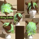 Minty Scribble Hat