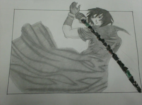 Anime Sword Drawings Anime Sword Guy by Heiti Nikai