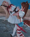 Kasumi vs Marie special halloween 2016 B