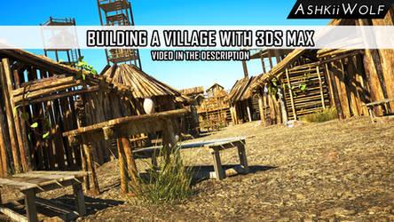 Ashkiiwolf Village 3DS MAX