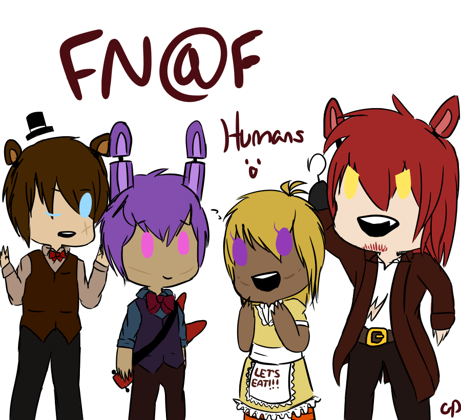 Human Fnaf Crew By DeviousDEVl On DeviantArt