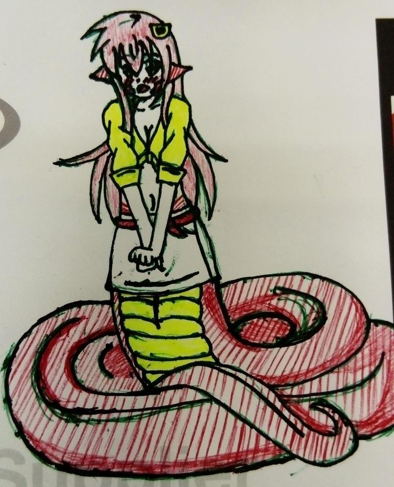 Work Doodle - Mia 2 by Flatty93
