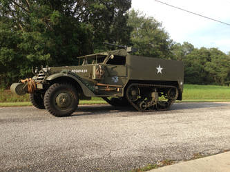 Carrier, Personnel Half-track M3 by Arrowfrogtmt2