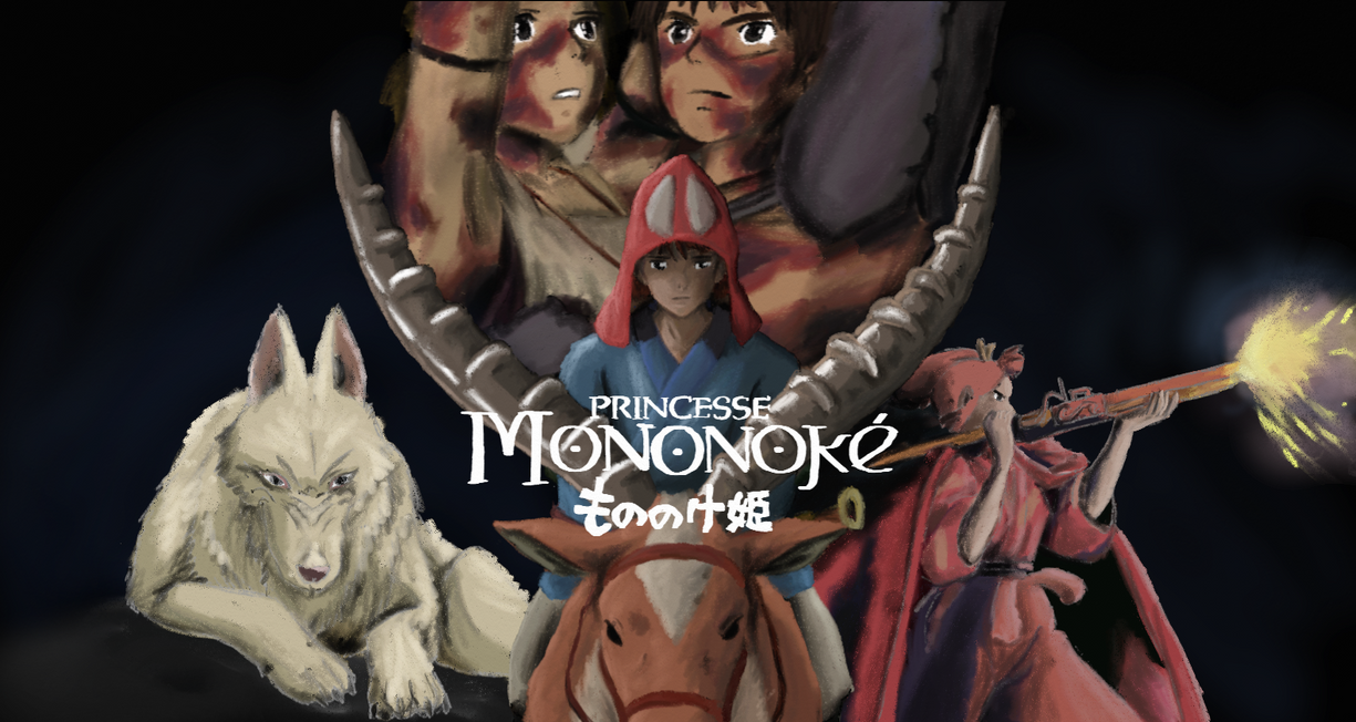 Princess Mononoke 2 by TashiRD