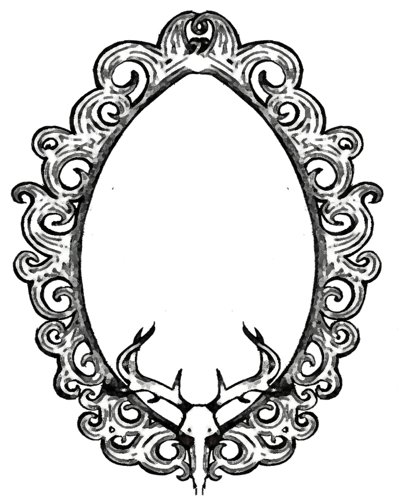 Mirror Mirror On The Wall Coloring Page