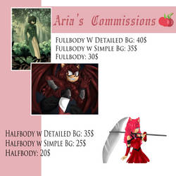 2020 Commission Prices!