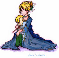 Draco and Narcissa by simplytonks