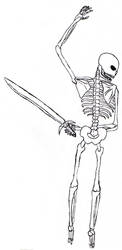 random skeleton by adameia