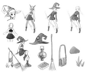 Witchy sketches