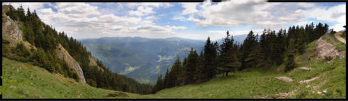 Carpathians near Brasov