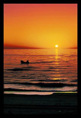 Fishing for sun