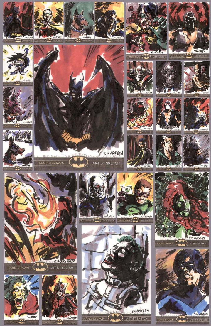 batman the legend by kenknudtsen